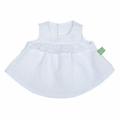 Rubens Barn Puppen Kleidung Outfit Kleid Top weiß für das Modell Kids & Ark