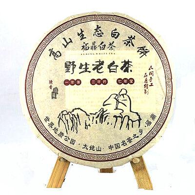 Chinese FuDing Organic Wild Aged Bai Mu Dan white peony Aged Cake White Tea 300g Chinese White Tea