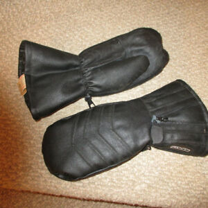 Kombi  leather snowbile gloves large