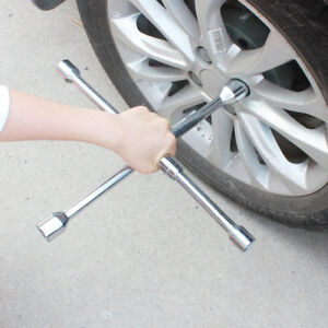 Cross Wheel Wrench Changing Tire