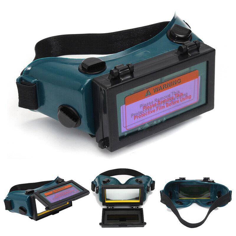 Pro Solar Welding Mask Helmet Arc Auto Darkening Eyes Goggles Welder Glasses CA