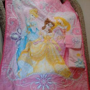 Disney Princess crib and toddler bed set