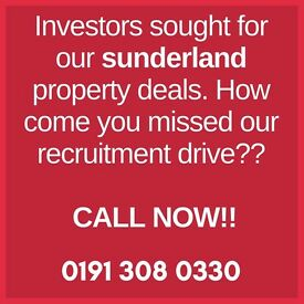 Looking for property bargains in Sunderland? CALL NOW!!