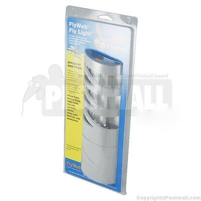 FlyWeb Compact Fly and Flying Insect Light Trap - Flyweb Insect Light