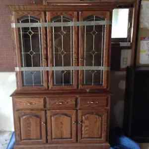 China Cabinet - Solid Oak