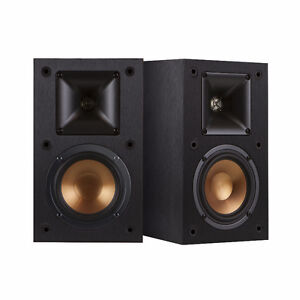 Klipsch R14M Reference 200-Watt Bookshelf Rear Speaker-new Pair