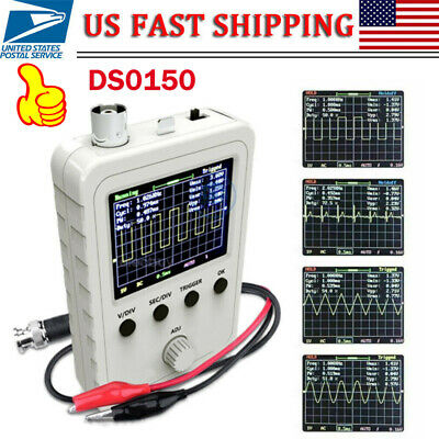 Portable Assembled Dso150 2.4 Inch Lcd Display Digital Oscilloscope With Probe