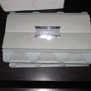2 CLARION AMPS FOR CAR SUBS