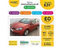 Volkswagen Golf 1.6TDI ( 105ps ) BlueMotion Tech FROM £31 PER WEEK