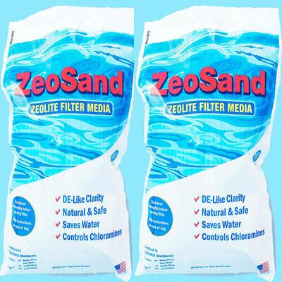 - Zeo Sand Alternative Sand Media For Swimming Pool Sand Filter (2 X 25 Lb Bags)