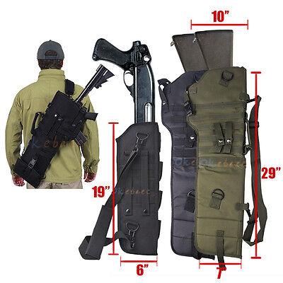 Tactical Shotgun Case (Tactical Scabbard MOLLE Shoulder Sling Padded Case For Hunting Rifle)