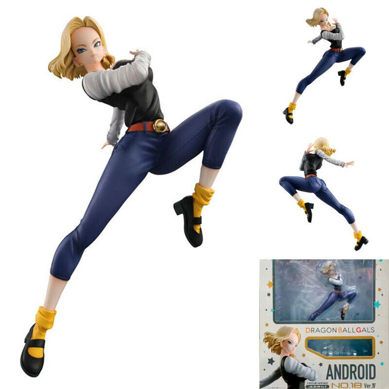 MegaHouse Dragon Ball Gals Android No.18 Ver.Ⅰ Girls Figure Collection in Box