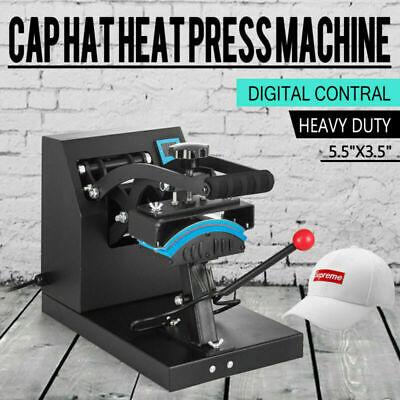 7 X 3.75 Cap Hat Heat Press Transfer Sublimation Machine Steel Frame Digital