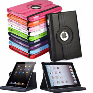 ALL IPAD MODELS 360' ROTATING CASES , DIFFERENT COLORS