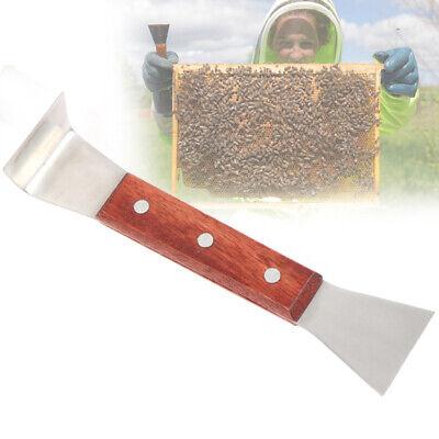 1pc Beekeeping Equipment Scraper Wood Handle Hive Tools Beekeeping Tools Gsg