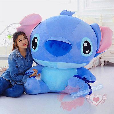 47   Giant Hung Big Plush Lilo   Stitch Doll Soft Stuffed Toys Kids Xmas  Gift 1ac5b4d44