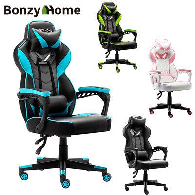 Racing Gaming Chair High Back Executive Ergonomic Adjustable Swivel Task Chair