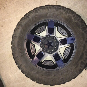 Rockstar 2s with nitto trail grapplers