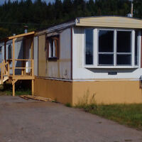 A fixer-upper with great potential in Caledonia Mobile Home Park