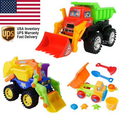 Toys for Kids Truck Car Excavator Bulldozer Engineering Vehicle Best Xmas