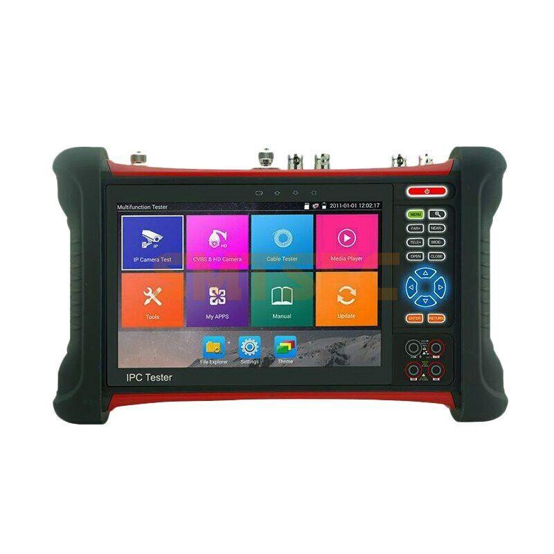 "X7-ADHS 7"" CCTV Camera Tester IPC AHD CVI TVI SDI CVBS 6in1 4K POE WiFi H.265"