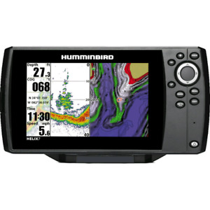Hummingbird helix 7 with down imaging/gps and maps