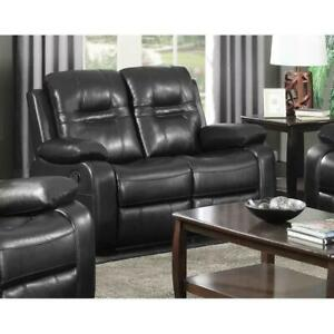 NAPOLEAN-RECLINER-SERIES-BROWN | LOVE SEAT ONLY (BR2469)