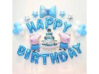 Multiple Happy Birthday Foil Balloon:SpongeBob SquarePants, Thomas n Friends,etc