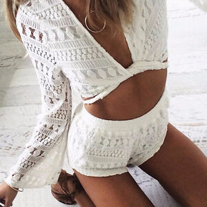 BRAND NEW Two Piece Lace Front Tie Coachella Festival Outfit Kitchener / Waterloo Kitchener Area image 6