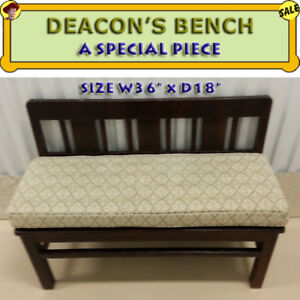 DEACON'S BENCH - GOOD QUALITY / GREAT CONDITION