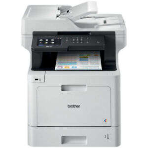 Brother MFCL8900CDW Colour Laser MFC 5-In-1 with toner Black LCD