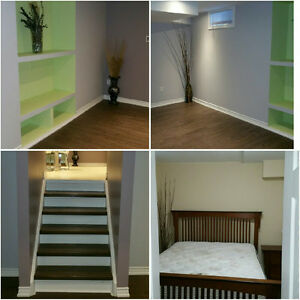 beautiful 2 level basement apartment for rent.