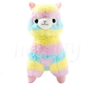 "5"" Rainbow Alpacasso Kawaii Alpaca Llama Arpakasso Soft Plush Toy Doll Gift Cute"