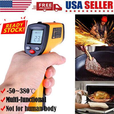Digital Non-contact Lcd Ir Laser Infrared Temperature Thermometer Gun Pyrometer