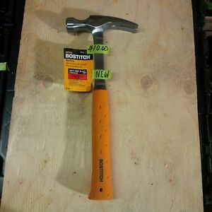 BRAND NEW STANLEY BOSTITCH 20 OUNCE RIP CLAW HAMMER