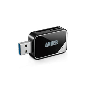 Anker USB 3.0 Card Reader 8-in-1 for SDXC, SDHC, SD, MMC, RS-MMC