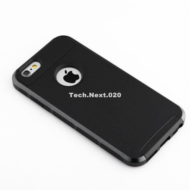Купить technext020 - For Black iPhone 6S Case Heavy Duty Hybrid Shockproof Hard Rubber iPhone 6 Cover