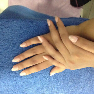 Gel nails only $35 including color and glitter Edmonton Edmonton Area image 1