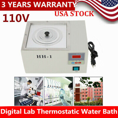 110v Digital Water Bath Electric Thermostatic Temperature Water Bath 300w Us Hot
