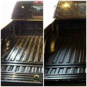 Spray in bedliners and detailing service