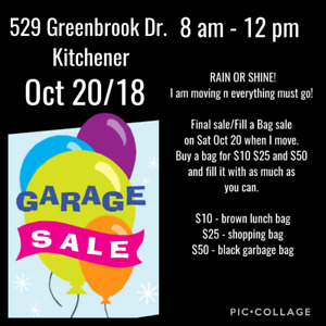 Garage/Bag sale