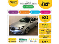 Vauxhall/Opel Insignia FROM £62 PER WEEK!