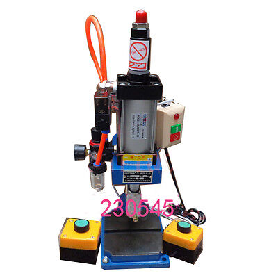 2 Buttons Pneumatic Press Machine Small 100 To 50 Type Punch Machine Press 200kg