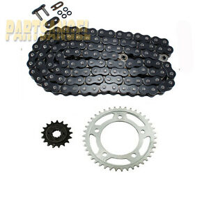 Black O-Ring Chain Sprocket Honda VT750 Shadow 750 1998-2003 1999 2000 2001 2002