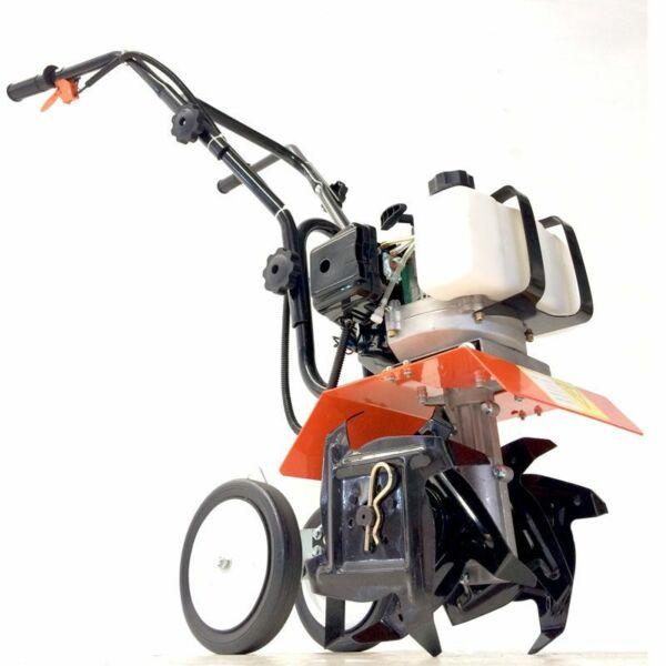 Motozappa motocoltivatore zappatrice motore a scoppio 2 tempi 52 cc