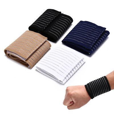Handgelenkstütze Wrap Verband Unterstützung Gym Strap Elastische Armband  Hn W0H - Elastische Handgelenk Hand Stütze