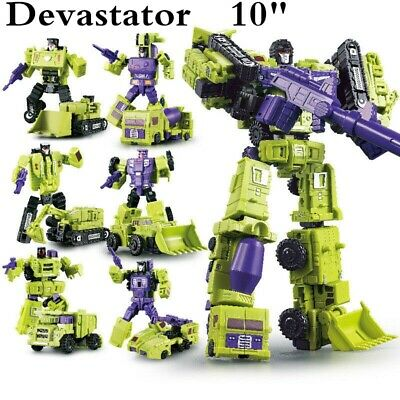 Transformers Devastator 6 In 1 WJ Hercules Engineering Car Action Figure In Box