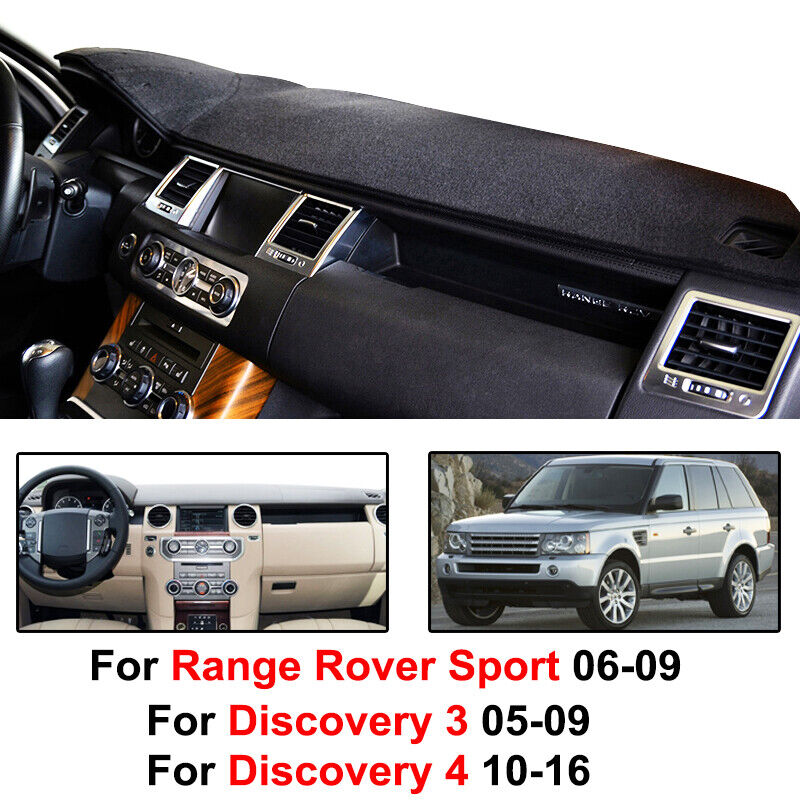 Dashboard Cover Mat For Land Rover LR3 2005-09 LR4 2010-16 Range Rover Sport New