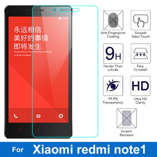 9H Tempered Glass Film For Xiaomi Hongmi Note1 redmi note 1 Screen Protector