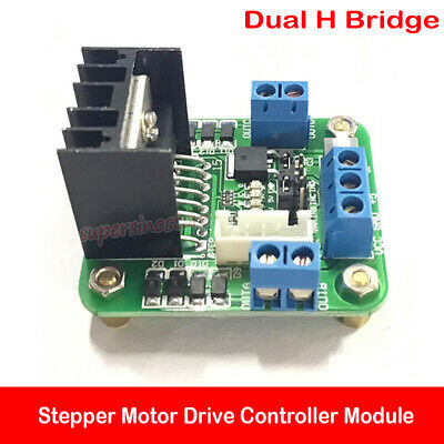 Dual H Bridge L298n Dc Stepper Motor Drive Controller Module Diy Arduino Toy Car